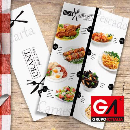 115 cartas de men para restaurantes restauraci n for Disenos de menus para restaurantes