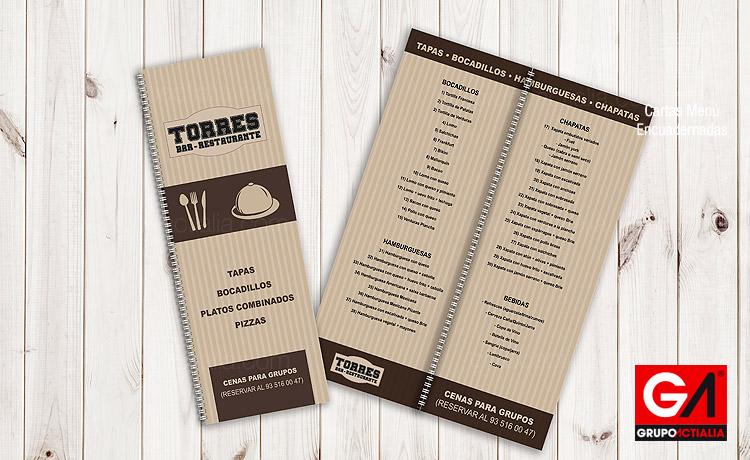 105€ - Cartas Menú Restaurantes · Libro Encuadernadas A5 Largo ...