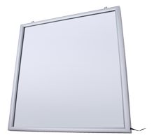 Display Cartel Luminoso LED de Pared 4 x A4 2 Caras